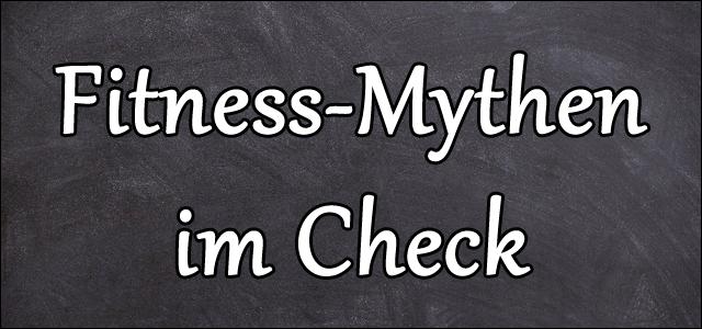 Die 5 häufigsten Fitness-Mythen im Check - Marcus Mohs